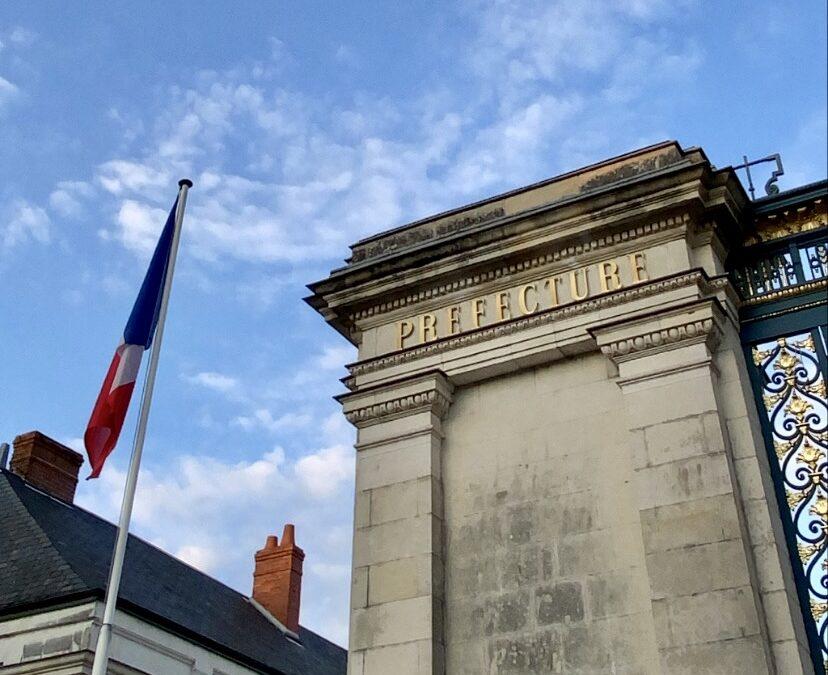Dépôt de la liste de candidats à la Préfecture d'Indre-et-Loire