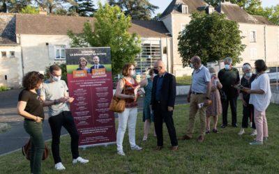 Réunions citoyennes à Montreuil-en-Touraine & Amboise